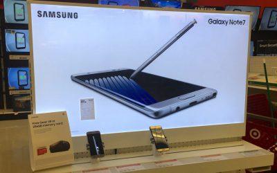 Communication de crise : le cas Samsung.